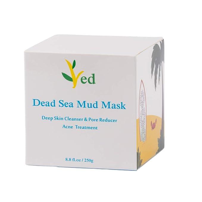 Mascarilla para el rostro, el cuerpo y el cabello - 100% natural y orgánico - 260 ml Facial Clean, hidratante y desintoxicación de la piel, máscara facial, ...
