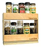 Pull Out Sliding Shelf Small Double Spice Rack for Upper Cabinet (UpperSlide Cabinet Caddies Model #US 303DS)