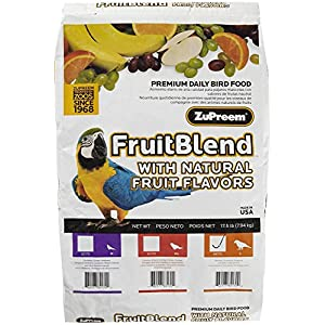 ZUPREEM 230335 Fruitblend Large Parrot Food, 17.5-Pound 108
