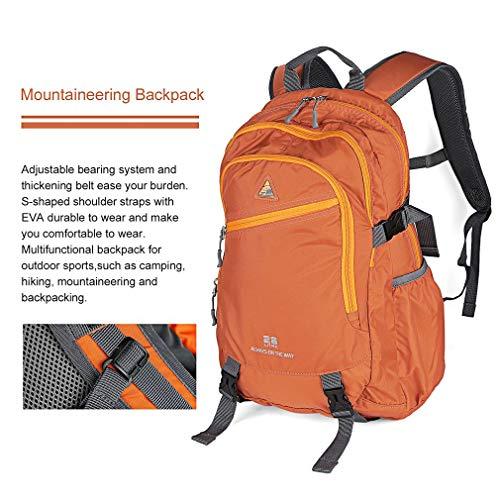 YTYC Outdoor Waterproof Mountaineering Backpack Multifunctional Travelling Bag by YTYC (Image #4)
