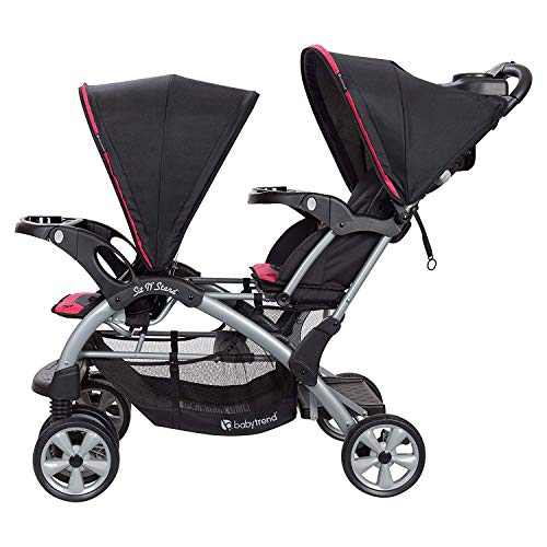 Buy double stroller with car seat