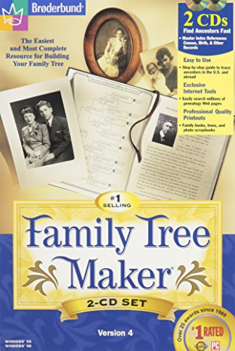 Broderbund Family Tree Maker: The Easiest and Most Complete Resource for Building Your Family Tree
