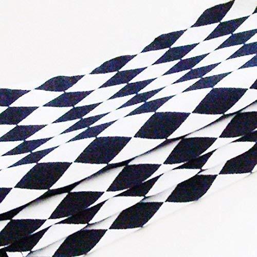 Mod Black and White Harlequin Cotton Napkins (Set of 6) ME2Designs Handmade Table Decor