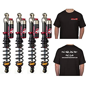 ELKA Suspension Stage 4 Shocks Front & Rear Kit Can-Am