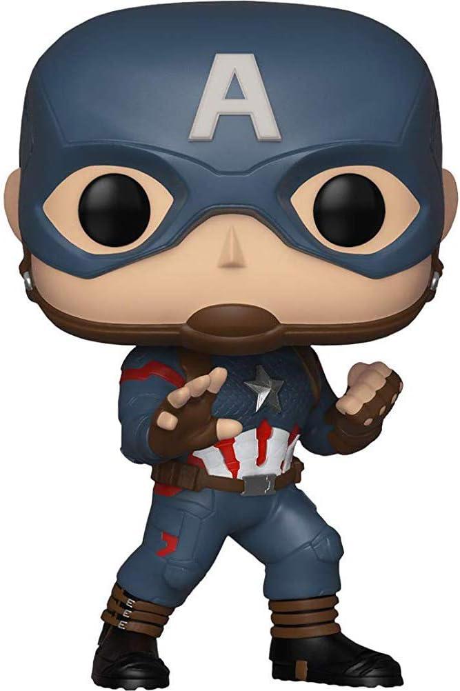 Funko Pop-CAPITAN AMERICA 464-Special Edition-Marvel Avengers RARA ** NUOVO **