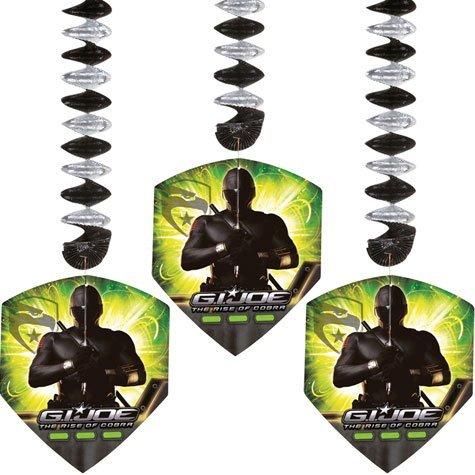 GI Joe 24in Dangling Cutouts 3ct by Party America -