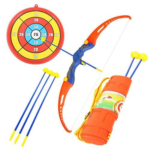 おもちゃの弓&矢印サクションカップの矢印&ターゲットアーチェリーの揺れ-1