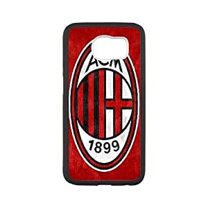 AC Milan Logo 004 For samsung galaxy s6 Cell Phone Case Black Cover xin2jy-4359959