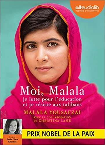 Moi Malala Livre Audio 1 Cd Mp3 Audio Cd French