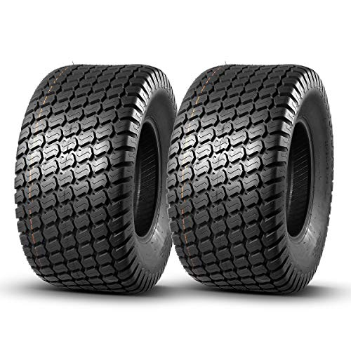 Set of 2 MaxAuto 26x12-12 26x12x12 Turf Tires for Lawn & Garden Mower,4 Ply Tubeless