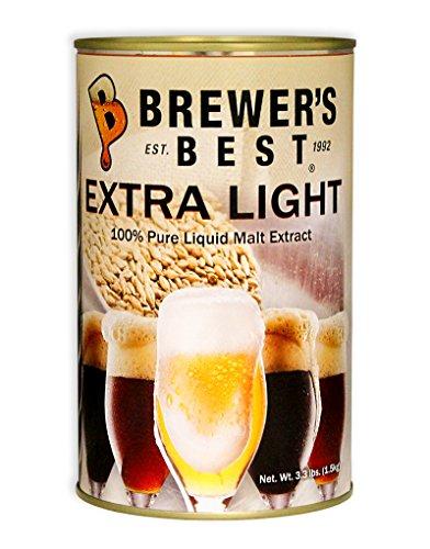 Brewer's Best Extra Light Liquid Malt Extract 3.3 lb