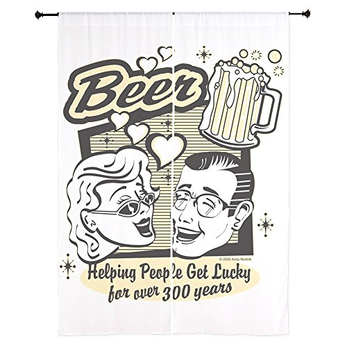 84 Inch Curtain Curtains Beer: Helping People Get Lucky by Truly Teague