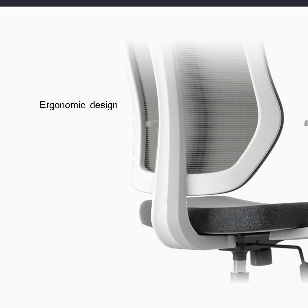 Xiuyun kontorsstol spelstol, ergonomiska skrivbordsstolar höjd justerbar svängbar datorstol 135 ° rygg, 2 färger svängbar stol (färg: Stil2) stil2
