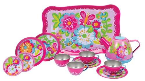 - Schylling Garden Party Tea Set