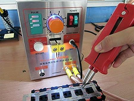 Hanchen Máquina de Soldar Soldadora Equipo de Soldadura Soldador Eléctrico Spot Welder 1.9kw Pulse Spot Welding Machine LED 709A para 18650 16430 14500 ...