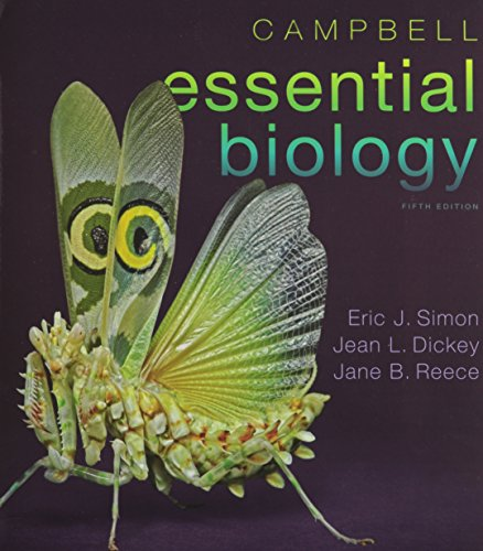 Campbell Essential Biology, and MasteringBiology with Pearson eText with MasteringBiology Virtual Lab Full Suite