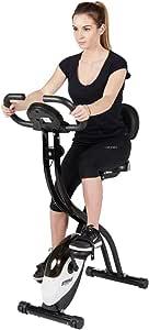 Striale PLI BIKE SV-314, Bicicleta plegable, Frenado magnético, 8 resistencias manuales, Cardiofrecuencímetro: Amazon.es: Deportes y aire libre
