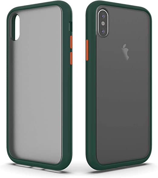 SURPHY Matte Case Compatible with iPhone X Case iPhone Xs Case, Translucent Matte Cover (Shockproof and Anti-Drop Protection) Frosted Case for iPhone ...