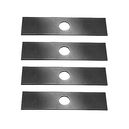 4 Pack, Heat Hardened (longer life) Edger Blades Replace Ryobi 613223, Echo  720-237-001, Stihl 4133-713-4101, Maruyama 216062  Green Machine 237001