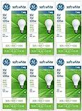 Tools & Hardware : GE Lighting 97493 30-Watt - 70-Watt - 100-Watt A21 3-Way, Soft White, 6-Pack