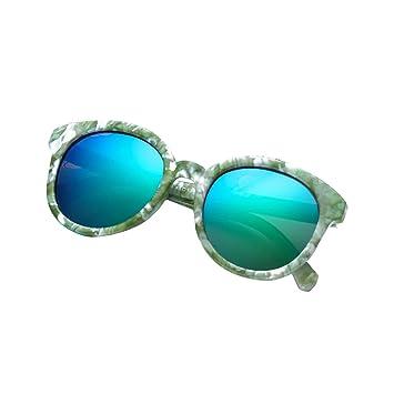 GOTTING niños de plástico gafas de sol polarizadas Ronda de resina lente niños Sun Glasses Niños