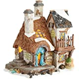 "Department 56 Christmas Carol Dickens Village Old Joe's Beetling Shop Light House, 6.3"""