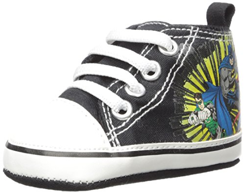 DC Comics Baby Boys Justice League Character Infant Shoes, Justice League High-Top Sneakers, 3-6 - League Sneakers Justice