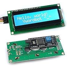 IIC/I2C/TWI/SP I Serial Interface1602 16X2 Character LCD Module Display Blue
