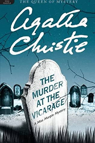 book cover of The Murder at the Vicarage
