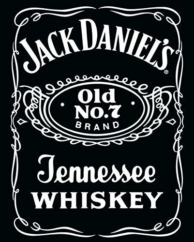 amazon com jack daniels vintage whiskey label alcohol drinking