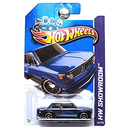 Hot Wheels Hw Showroom BMW 2002 Blue