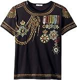 Dolce & Gabbana Kids  Baby Boy's Medallion T-Shirt (Toddler/Little Kids) Black 4T