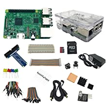Wollgord 2017 The Newest Raspberry Pi 3 Ultimate Starter Kit for 32 GB Edition
