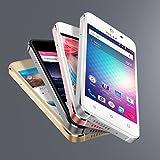 "Blu vivo 5 Mini - 4.0"" Smartphone Factory unlocked, Aluminum design, Silver"