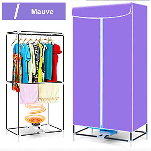 Hosmide Portable Clothes Dryer 1000W Clothes Dryer Laundry Drying Rack 33LB Capacity Best Energy Saving Dryer Clothes Quick Dry & Efficient – Mauve