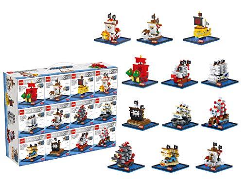 DR.STAR DIY Mini Building Blocks Pirate Ships Building Blocks Set of -