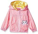 Pink Platinum Toddler Girls' Cheetah Windbreaker, Pink, 4T