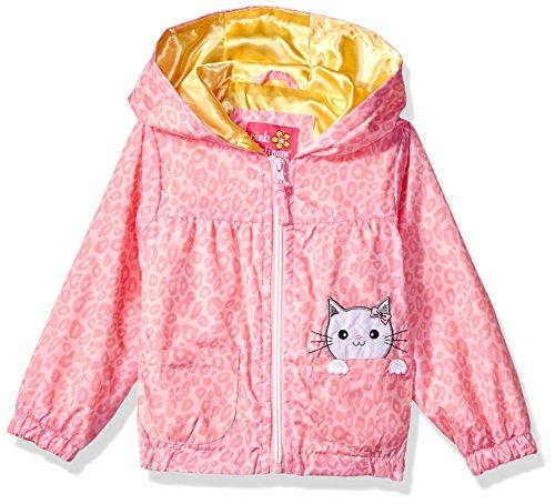 Pink Platinum Toddler Girls' Cheetah Windbreaker, Pink, 4T by Pink Platinum