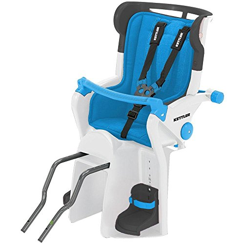 Kettler Flipper Child Bike Seat, Blue by Kettler (Image #1)