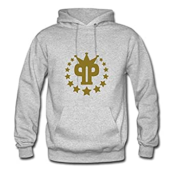Best Arturobuch Grey Popular Pp_stars_crown Hoodies X-large Women
