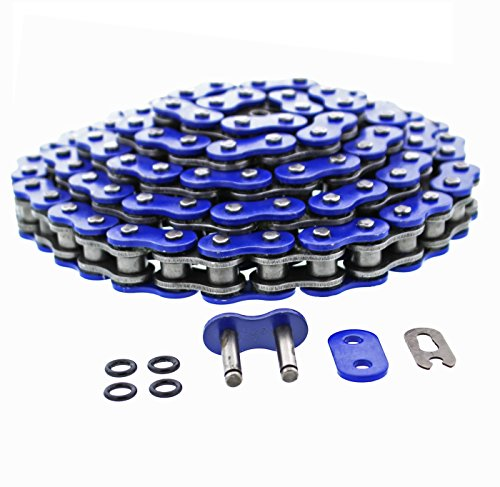 Blue O-Ring Chain 520X92L 2001 2002 2003 2004 2005 fits Yamaha YFM660 660 Raptor (Raptor 2003 And 660 Chain)