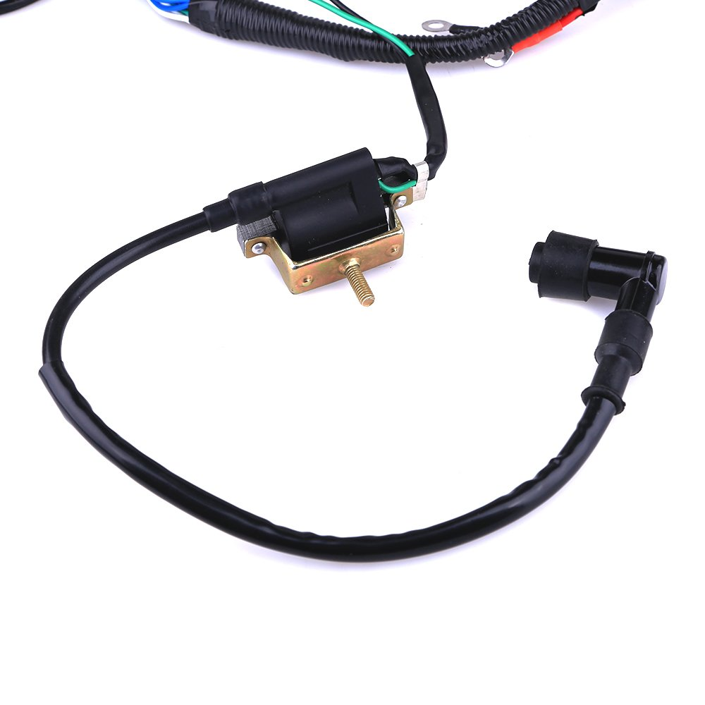 51YKBE0LklL._SL1000_ amazon com complete electrics coil cdi wiring harness atv klx  at gsmx.co
