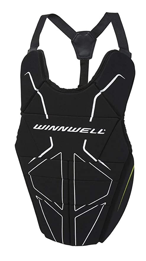 Amazon Com Winnwell Street Hockey Goalie Chest Protector Sports