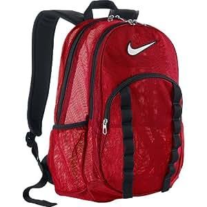 Amazon.com : Nike Brasilia 7 Large Mesh Backpack (Red, One