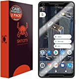 Best Phone Case Custom Looking Phones - Google Pixel 2 XL Screen Protector (Case Friendly)[2-Pack] Review