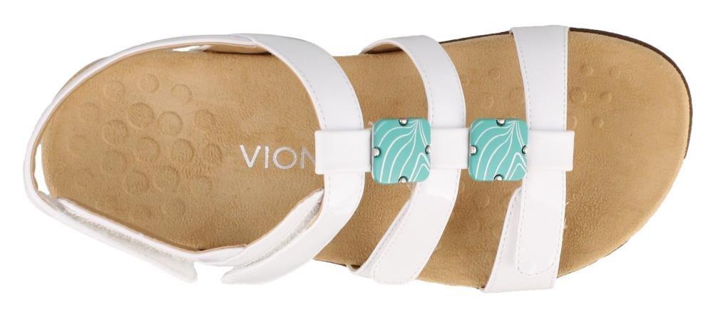 Vionic Women's Amber B071G946DW US|White 9 W US|White B071G946DW Patent 7680a0
