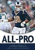 #7: 2018 Panini All-Pro #7 Aaron Donald Los Angeles Rams Football Card