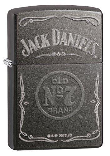Zippo Jack Daniel's Grey Dusk Lighter