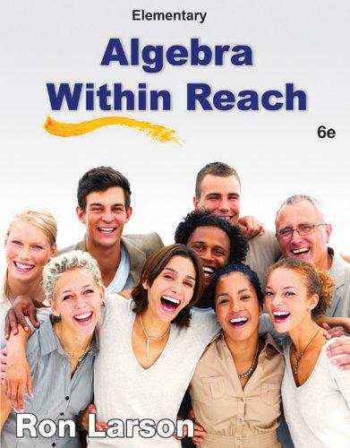 Elementary Algebra: Algebra Within Reach Pdf