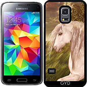 Funda para Samsung Galaxy S5 Mini - Caballo Blanco by Gatterwe